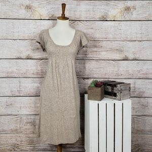 Anthropologie Moth Cap Sleeve Sweater Dress
